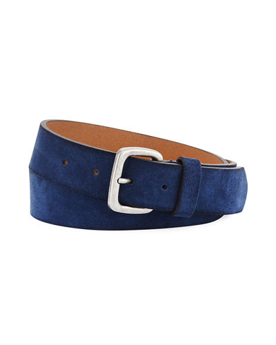 Washed Suede 35mm Belt