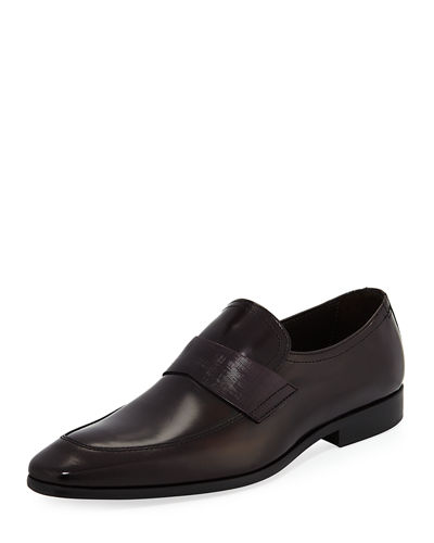 Rego Leather Slip-On Loafer