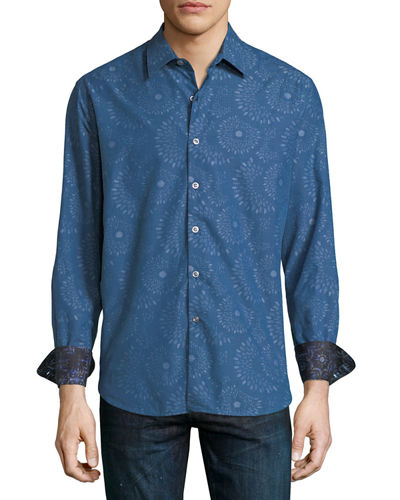 Creedance Classic-Fit Woven Shirt