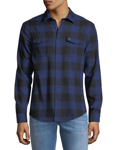 Buffalo-Plaid Brushed Flannel