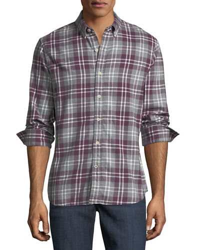 Jimmy Plaid Flannel Shirt