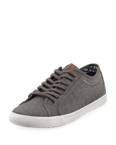 Men's Conall Low-Top Canvas Sneakers