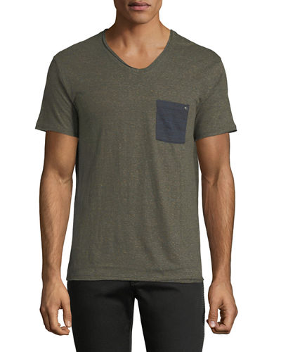 Nabico V-Neck Short-Sleeve T-Shirt