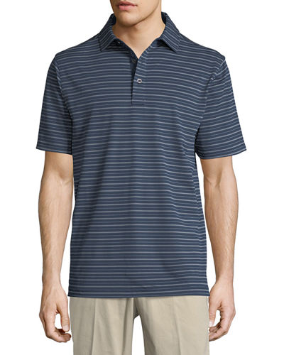XH2O Ranch Stripe Polo Shirt