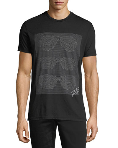 Short-Sleeve Sunglasses Graphic T-Shirt