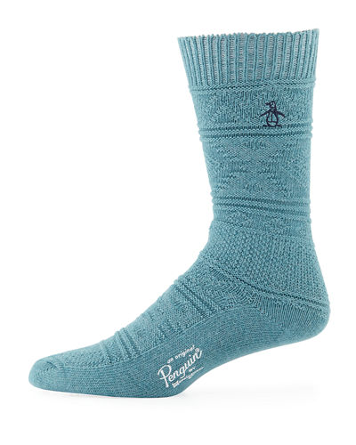 Logan Textured Knit Socks