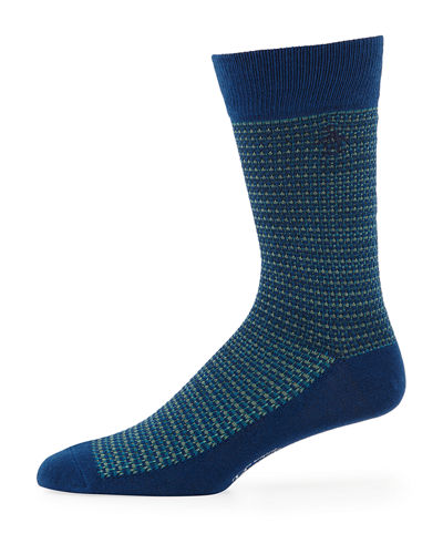 Roast Combed Cotton Birdseye Socks