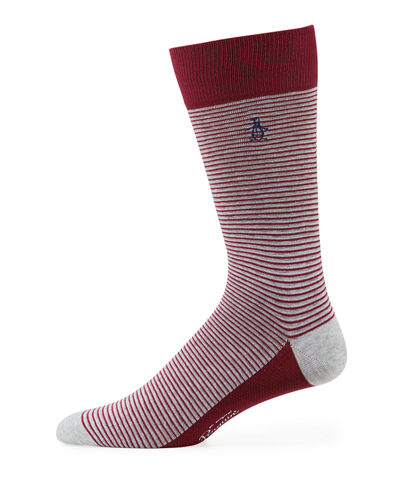 Tulip Combed Cotton Striped Socks