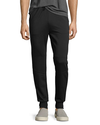 Fleece Zip-Pocket Jogger Pants