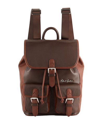Men's Alondra Leather Rucksack Backpack