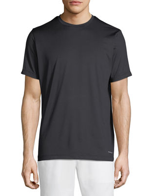 TAHARI SPORT Basic Running Tee in Black