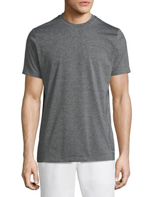 TAHARI SPORT Basic Running Tee in Gray