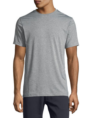 TAHARI SPORT Basic Running Tee in White