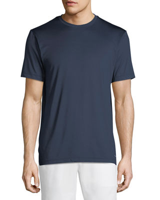 TAHARI SPORT Basic Running Tee in Navy
