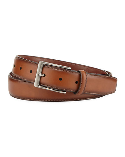 Men's Amigo Leather Dress Belt