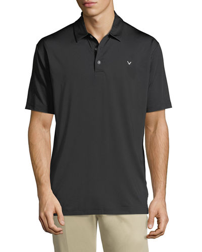 Stretch-Knit Polo Shirt