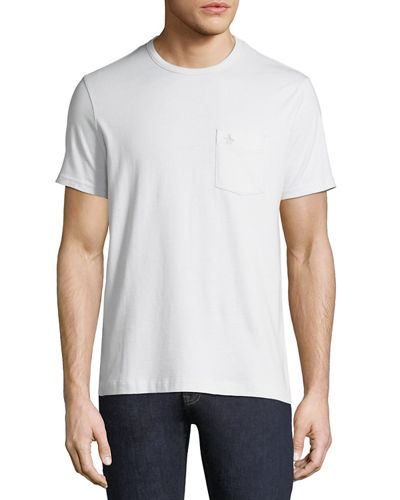 Jasper Crewneck Pocket Tee