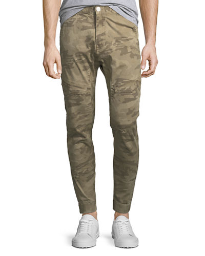 Camouflage Tapered Flight Pants
