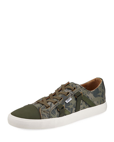 Men's Signature Mixed Platform Sneakers