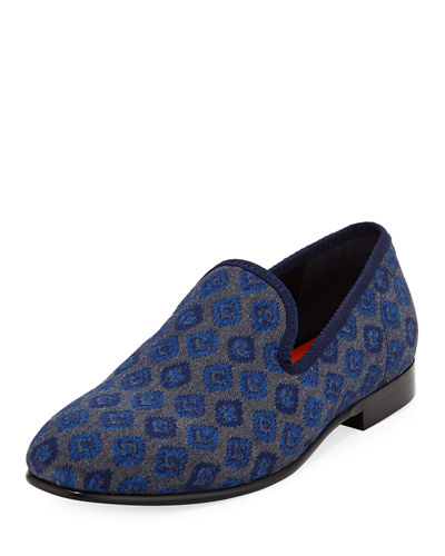 Enrico Printed Slip-On Loafer