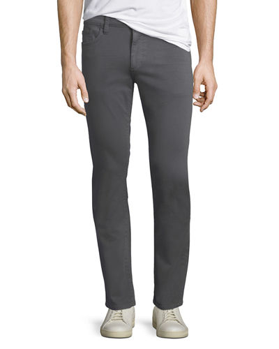 Men's French Terry Slim-Straight Pants