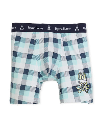 Psycho Bunny Fashion Knit Boxer Briefs