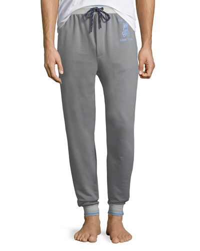 Men's Cotton-Blend Jogger Lounge Pants