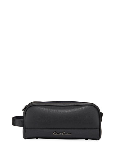 Osvaldo Faux-Leather Toiletry Bag