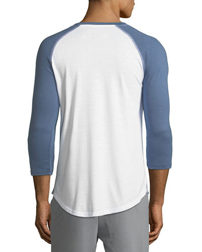 3/4-Sleeve Baseball Lounge Tee