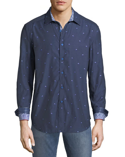 Robert Graham Classic Fit Seneca Lake Sport Shirt
