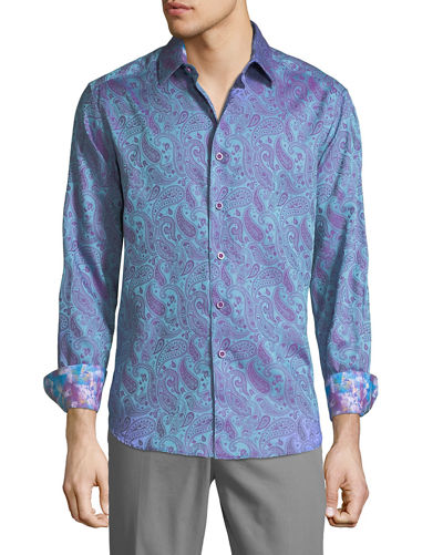 Men's Classic-Fit Abalone Way Sport Shirt