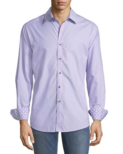 Robert Graham Men's Classic-Fit Acer Court Sport Shirt