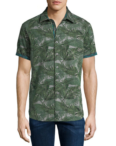 Classic-Fit Acme Road Short-Sleeve Sport Shirt