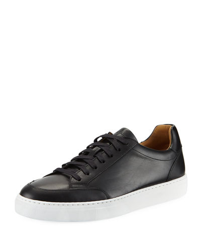 Men's Butero Leather Low-Top Sneakers
