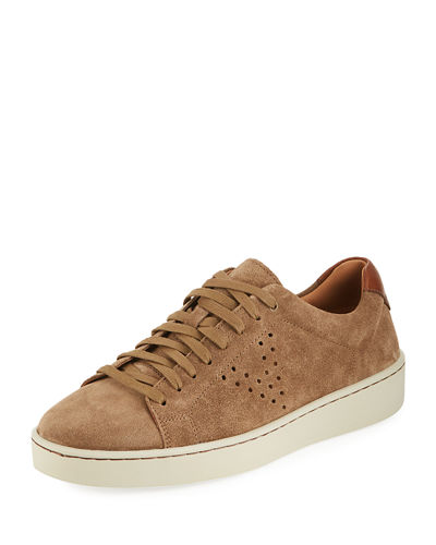 Men's Simon Suede Low-Top Sneakers