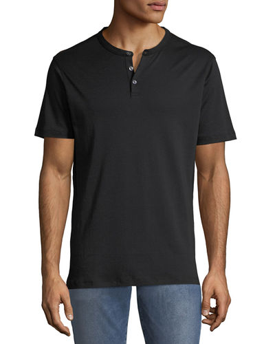 Men's Jefferson Three-Button Henley Shirt