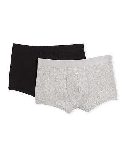 Men's Cotton-Modal Stretch Trunks  Two Pack