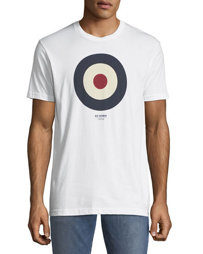 Men's Short-Sleeve Target Graphic T-Shirt