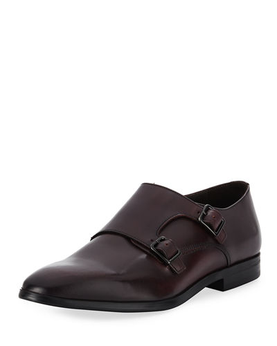 Men's Siracusa Double-Monk Dress Shoes