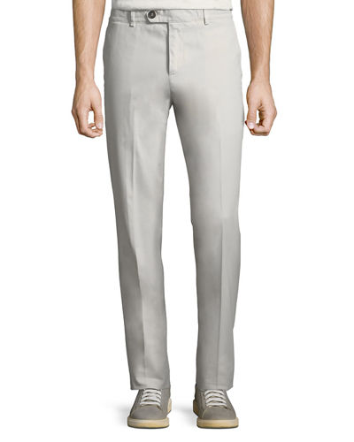 Men's Slim-Fit Stretch Gabardine Pants