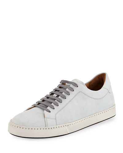 Men's Noble Suede Platform Sneaker