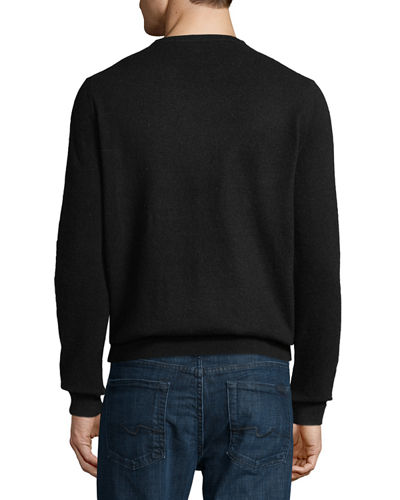 Men's Cashmere Crewneck Sweater