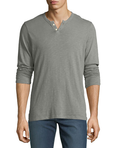 Joe's Jeans Men's Slub Henley T-Shirt