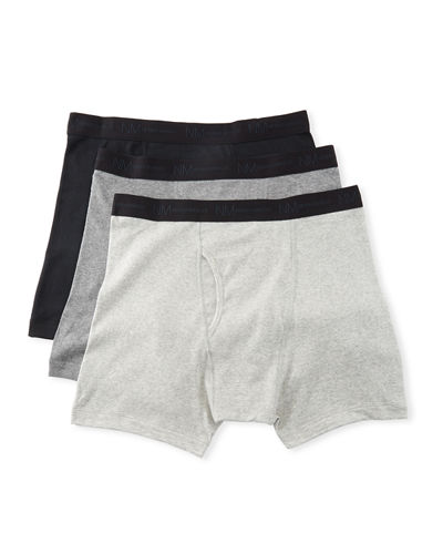 Men's 3-Pack Cotton Boxer Briefs
