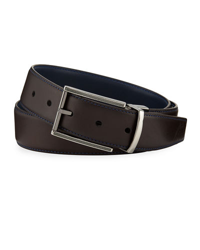 bc55ae6807355 Men's Belts : Leather & Nylon Belts at Neiman Marcus Last Call