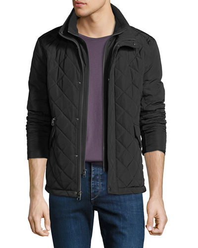Iconic American Designer Men's Quilted Barn Jacket