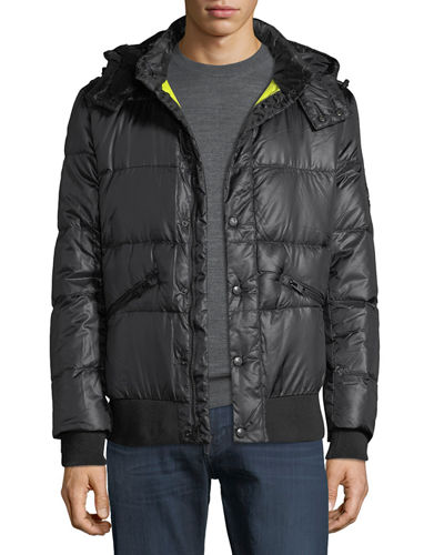 Men's Down Parka Soft Touch Jacket