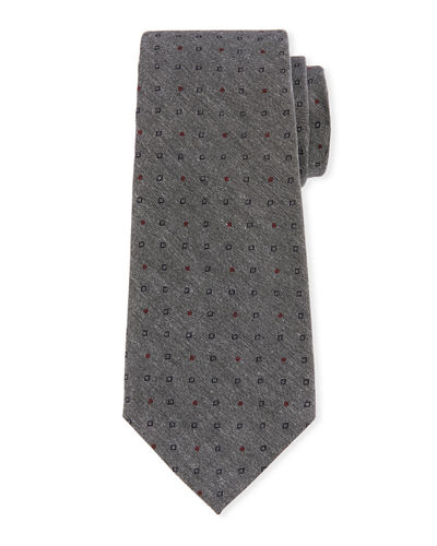 Joe's Neat Pattern Silk Tie