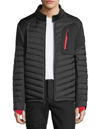 Body Glove Men's Quilted Hybrid Neoprene Primaloft® Jacket
