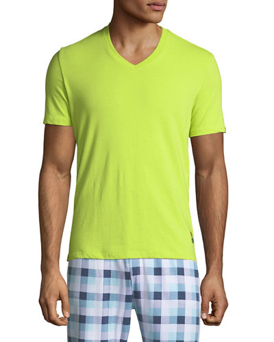 Men's Bright V-Neck Lounge T-Shirt